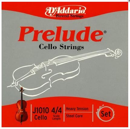 Струны для виолончели Размер 4/4 D`ADDARIO J1010 4/4H Prelude 4/4H, фото 2