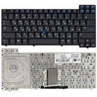 Клавиатура для ноутбука HP Compaq (NC8200, NC8230, NX8220, NW8240, NC8400, NC8440) с указателем (Point Stick), Black, RU Compaq NC8230