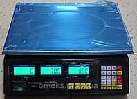 Весы торговые ACS Matrix 40 кг (постоянного и переменного тока)