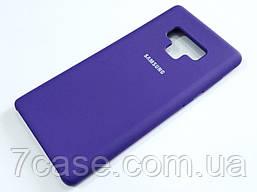 Чехол Silicone Case Cover для Samsung Galaxy Note 9 N960 фиолетовый