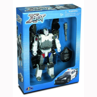 Робот-трансформер Полиция X-Bot