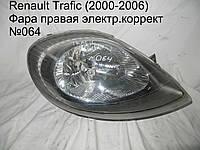 Фара прав эл.коррект Renault Trafic (00-06)