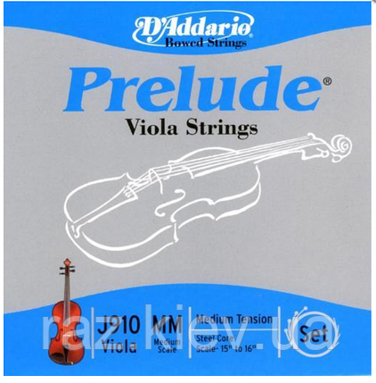 """Струны для альта Длина 15""""-16"""" D`ADDARIO J910MM Prelude MM, фото 2"""