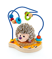 Деревянная игрушка Лабиринт-Ежик (Д385/1)