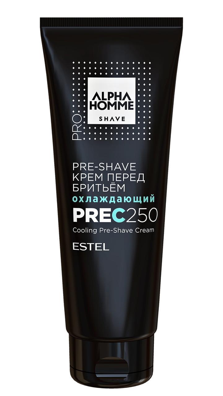 Крем охлаждающий перед бритьем PRE-SHAVE ALPHA HOMME PRO, 250 мл