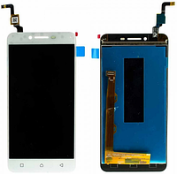 Дисплей (екран) для Lenovo A6020 a40 Vibe K5 ленів + тачскрін, колір білий