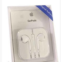 Наушники Apple EarPods с микрофоном, гарнитура проводные наушники для айфона ЕирПодс копия под оригинал