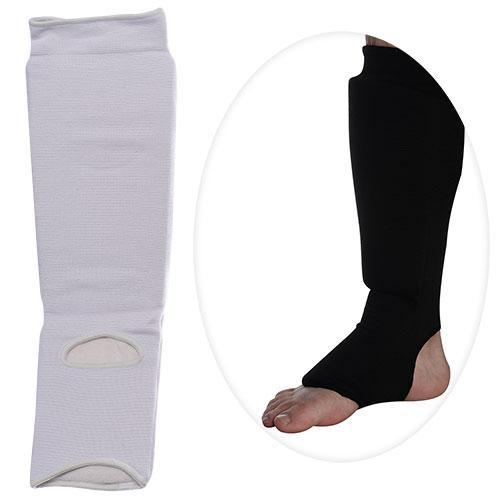 Защита MS 0674 L  для борьбы,эластичн,для ног,голень+стопа,размL,48-15см,2цв,в кул,15-30-6см