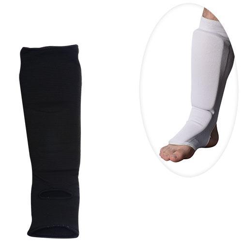 Защита MS 0674 S  для борьбы,эластичн,для ног,голень+стопа,размS,43-13см,2цв,в кул,13-28-6см