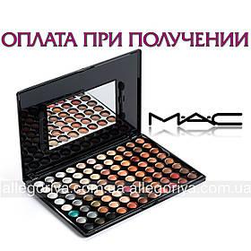 Палитра теней  Mac Cosmetics 88 цветов матовые тени палетка теней 88 оттенков реплика