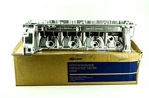 Головка циліндрів 21214 в зборі без шпильок (Євро-3, н/о, отв. під датчик фаз) АвтоВАЗ