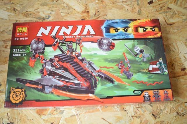 """Конструктор Bela Ninja  """"Алый захватчик"""" 331 дет"""