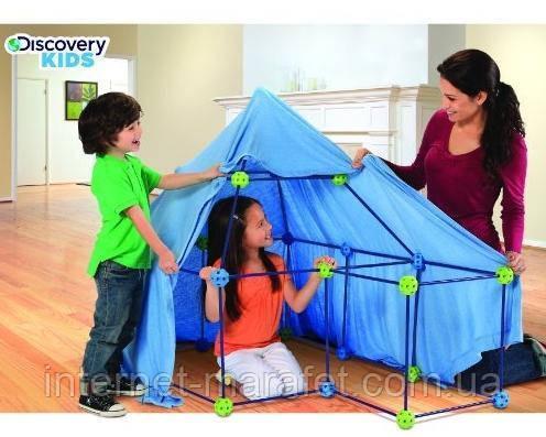 Конструктор детский домик Discovery Kids Fort (77 деталей)