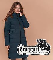 Braggart Simply 1938 | Зимняя женская куртка бирюзовая