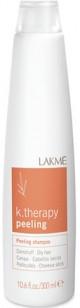Шампунь против перхоти для сухих волос Lakme K.therapy Peeling 1л