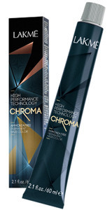 Безаммиачная перманентная краска для волос Chroma Lakme