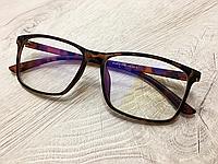Очки для компьютера со стеклянными линзами