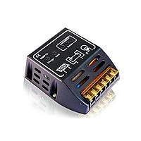 Контроллер заряда АКБ АCM1012, 10A, 12V/24V USB