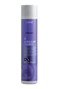 Lakme Тонирующий шампунь для блондинок, осветленных и светлых волос Teknia Ultra Clair 300 МЛ