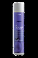 Lakme Тонирующий шампунь для блондинок, осветленных и светлых волос Teknia Ultra Clair 1Л