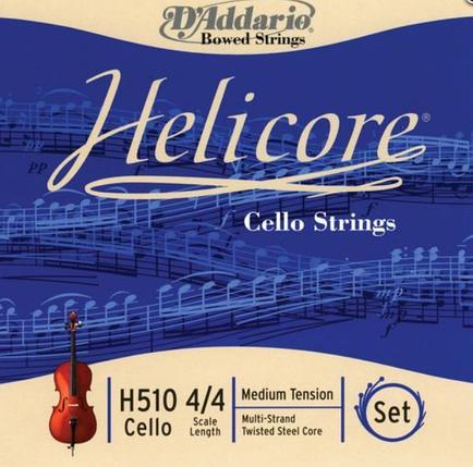 Струны для виолончели Размер 4/4 D`ADDARIO H510 4/4H Helicore 4/4H, фото 2