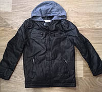 Куртка кожзам на меху для мальчиков Glo-Story оптом , 134/140-170 рр., фото 1