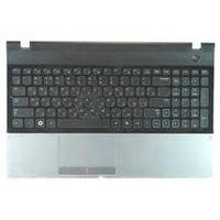 Клавиатура для ноутбука Samsung (300E5A) Black, с топ панелью (Black), RU 300E5A