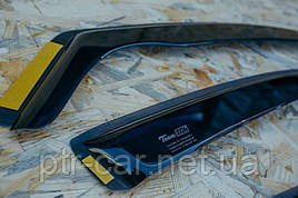 Дефлекторы окон (ветровики) FIAT PUNTO II,III 5D 1999R-> 4шт (Heko)