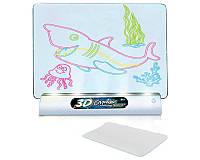 Доска для рисования с 3D-эффектом Toy Magic 3D Морской мир (sp4150-2)