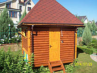 Каркасный домик для апитерапии (для содержания 8 семей пчел)