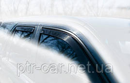 Дефлекторы окон (ветровики) Hyundai Accent/Verna 1999-2006 /Kia Rio 4D 4шт (Heko)