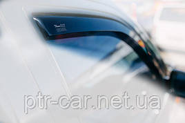 Дефлекторы окон (ветровики) Ford Fiesta 3D 2002-2008 2шт (Heko)