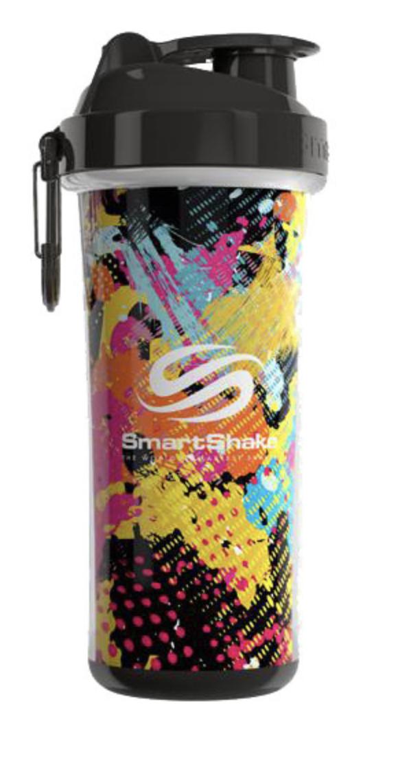 Шейкер SmartShake Double Wall 750 ml graffiti