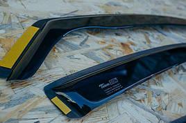 Дефлекторы окон (ветровики)  Renault Scenic 2003-> 5D 4шт (Heko)