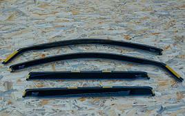Дефлектори вікон (вітровики) Citroen C3 5D 2002-> 4шт (Heko)