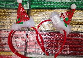 Новогодние обручи - Звездочка, Елочка, Колпак колпак