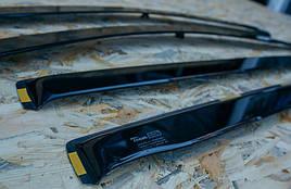 Дефлекторы окон (ветровики) Citroen C1 3d 2005/ PEUGEOT 107 3D 2шт (Heko)