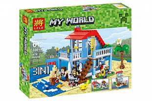 Конструктор Lele 33019 Домик на морском побережье (аналог Lego Creator 7346) 470 дет