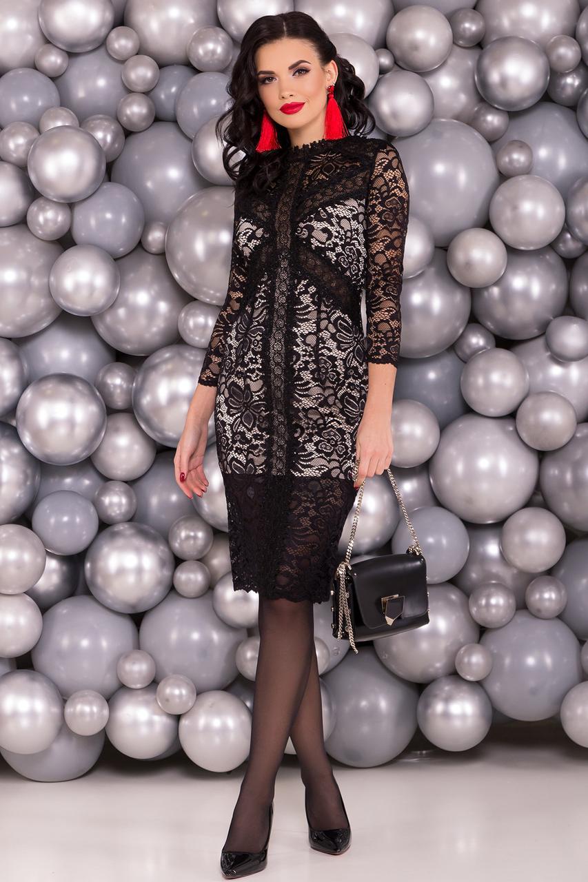 206466ee4cc43a2 Черное гипюровое платье, цена 1 360 грн., купить в Харькове — Prom ...