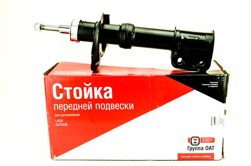 Стойка передней подвески ВАЗ 1119 правая гидравлическая с верхней гайкой под бочкообразную пружину(СААЗ)