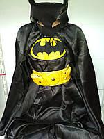 Для мальчика на утренник маскарадный костюм Бэтмена качественный карнавальный костюм супергероя
