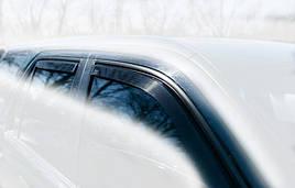 Дефлектори вікон (вітровики) Audi A6 4D 2003-> 4шт (Heko)