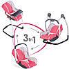 Кресло для куклы 3 в 1 Maxi Cosi Smoby 240230