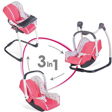 Кресло для куклы 3 в 1 Maxi Cosi Smoby 240230, фото 2