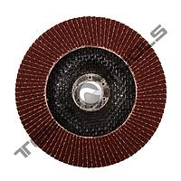 Круг лепестковый торцевой КЛТ Sprut 125x22.23 Р40