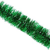 Гирлянда мишура дождик Bonita d50 мм 3 м Зеленая