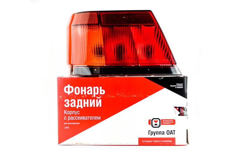 Ліхтар задній 2115 зовнішній лівий кут з ущільнювальною прокладкою АвтоВАЗ
