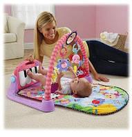 Музыкальный коврик для младенца HE0603-HE0604 пианино,  71-47 см