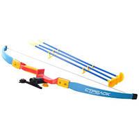 Детский лук со стрелами Limo Toy M 0347 U/R стрелы на присосках 3 шт, прицел, лазер