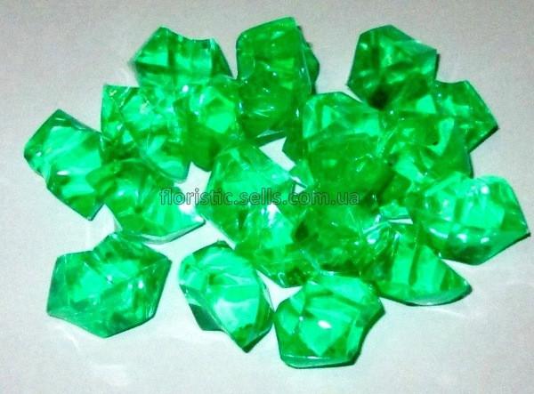 Лед искусственный салатовый 50 гр.